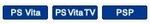 Vita・VitaTV・PSP対応